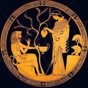 Hércules con Atenea