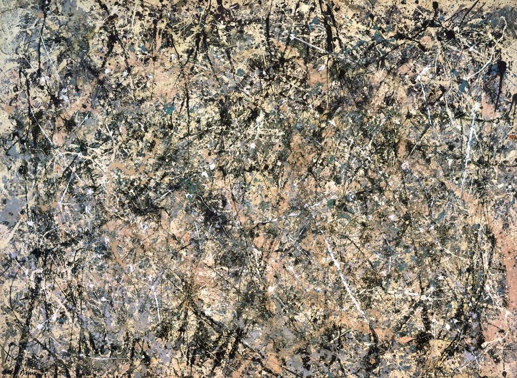 Pollock, Lavendr Mist (1950)